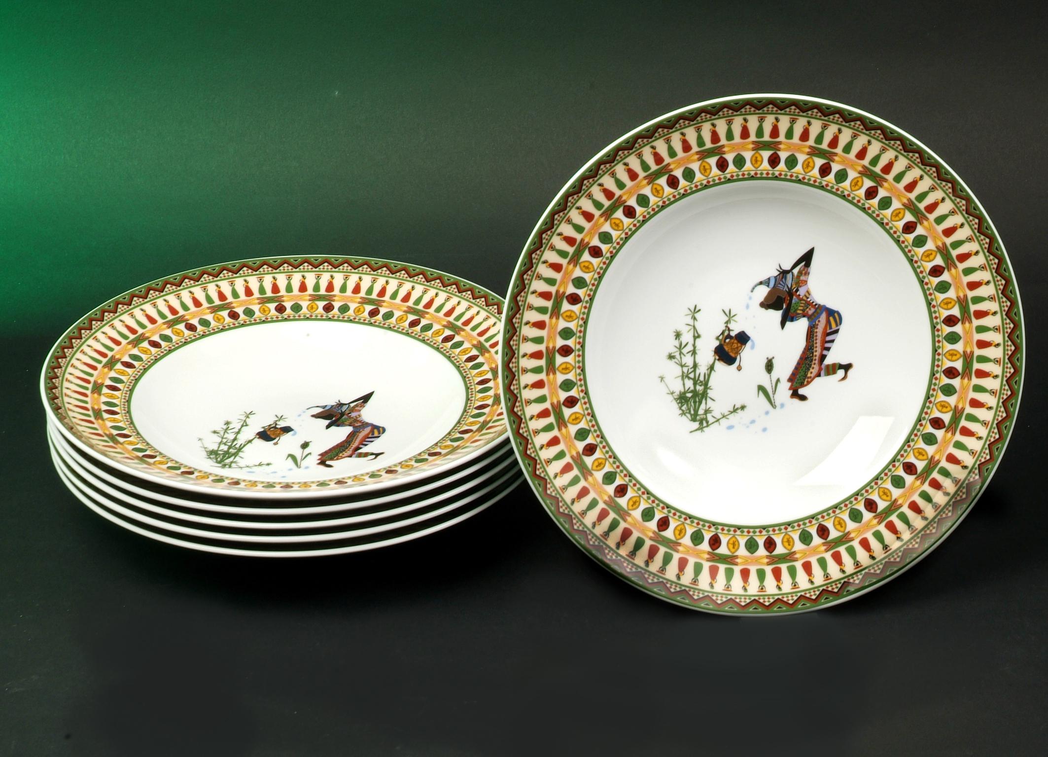 Wing Africa Style Dekor Serie Zusammenstellung