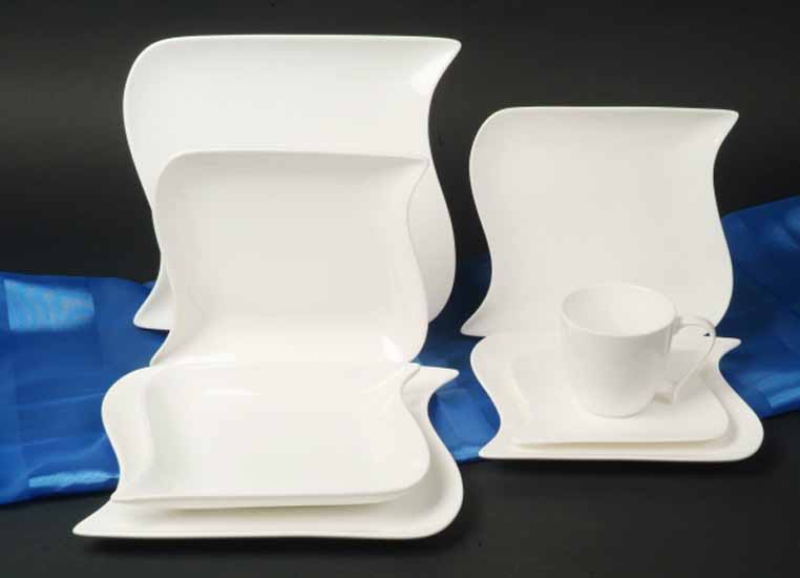 villa table das porzellanhaus creatable ozean weiss serie. Black Bedroom Furniture Sets. Home Design Ideas