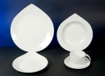 Deluxe Drop White Tableware Series