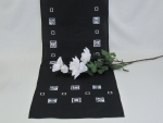 Table Runner Black 40 x 140cm