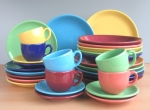 Colorful Six Colors Ceramic Tableware Series