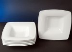 Victoria White Pasta Plates Six-pack Set