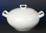 Yvonne White Soup Tureen 2 pieces