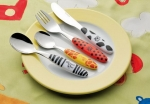 Safari Cutlery for Children 4 pieces 18/0