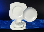 Eureka White Tableware Series