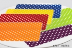 Kasva Red Dots Place Mat Six-pack Set