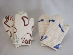 Oven Glove Brown 1 pair