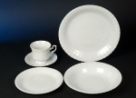 Irina White Tableware Series