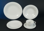 Jupiter White Tableware Series