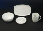 Kasva White Breakfast Set 4 pieces