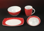 Kasva Dots Breakfast Set 4 pieces