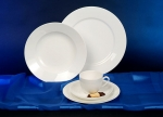 Royal Bone China Porzellanservice Weiss